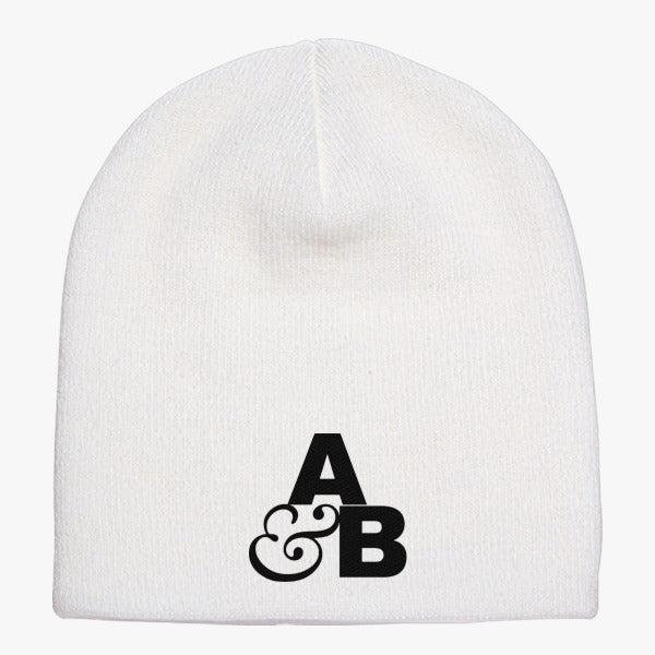 Above And Beyond Logo Knit Beanie