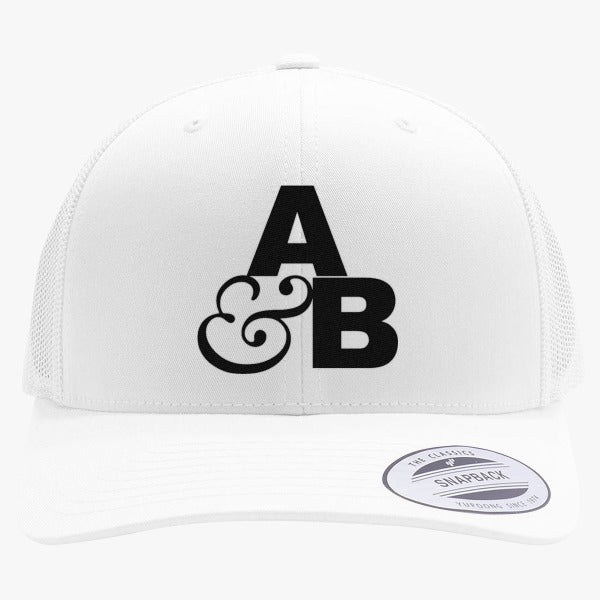 Above And Beyond Logo Embroidered Retro Embroidered Trucker Hat