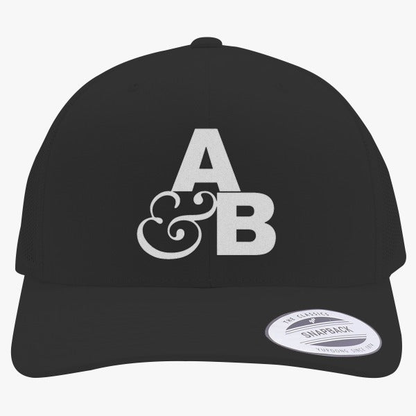 Above And Beyond Embroidered Retro Embroidered Trucker Hat