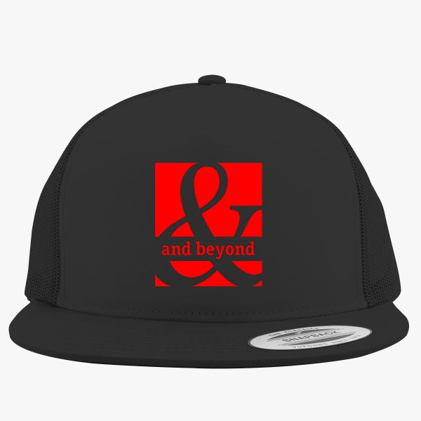 Above  And Beyond Embroidered Trucker Hat