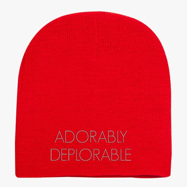 Adorably Deplorable Knit Beanie