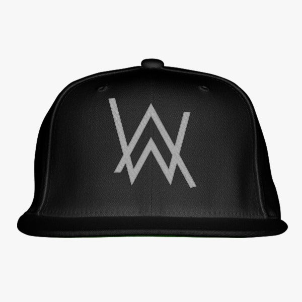 Alan Walker Logo Embroidered Snapback Hat