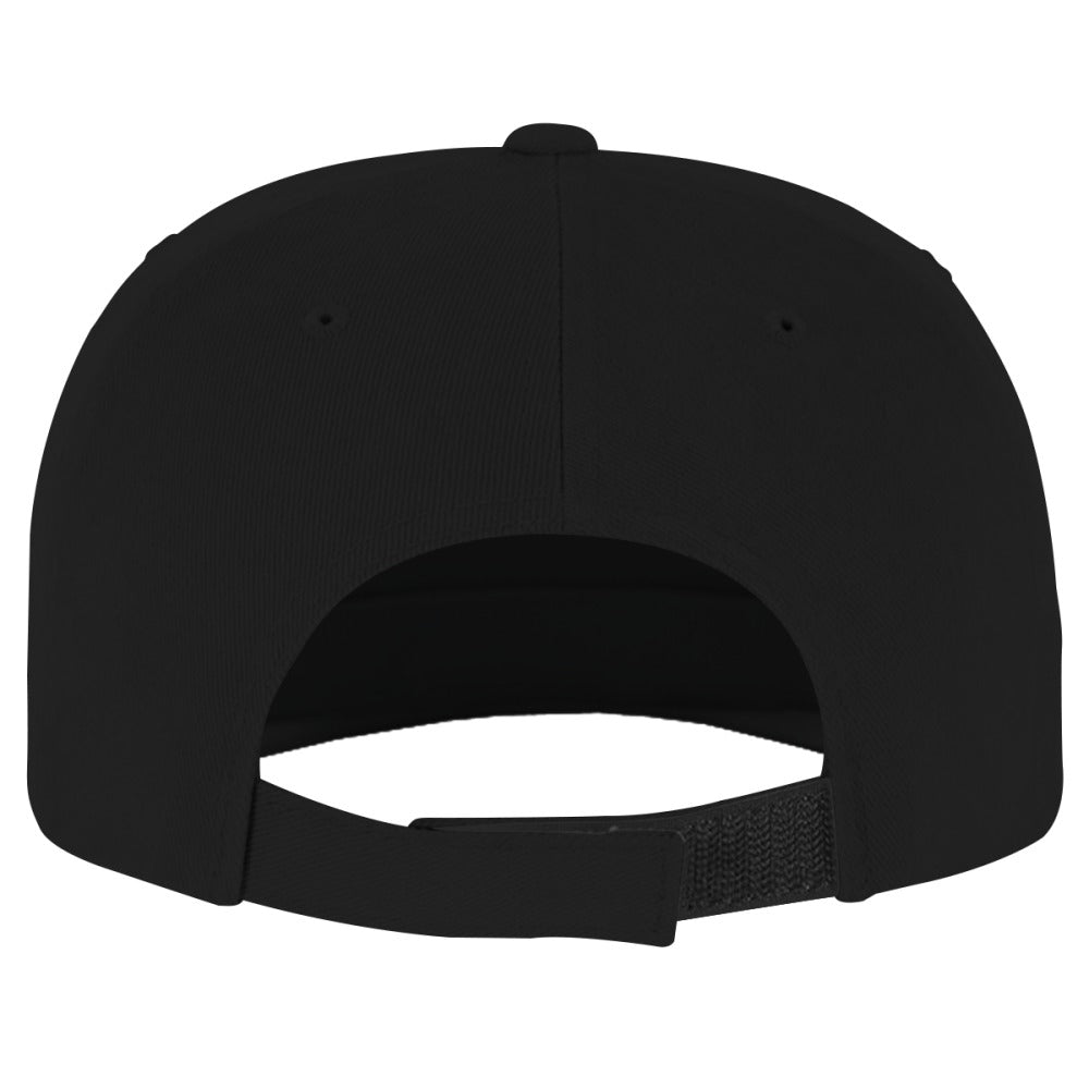 Alien Smiling Brushed Embroidered Cotton Twill Hat