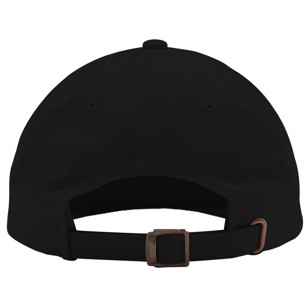 Alien Smiling Embroidered Cotton Twill Hat