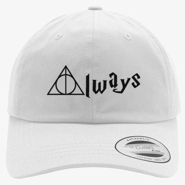 Always Deathly Hallows Embroidered Cotton Twill Hat