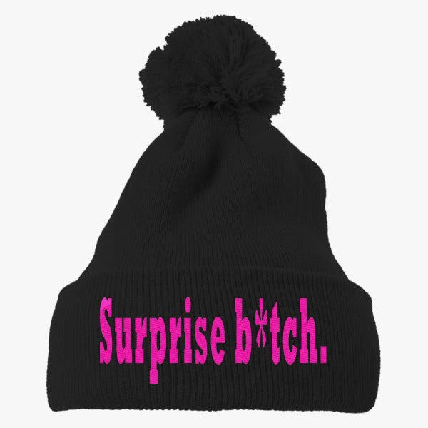 American Horror Story Embroidered Knit Pom Cap
