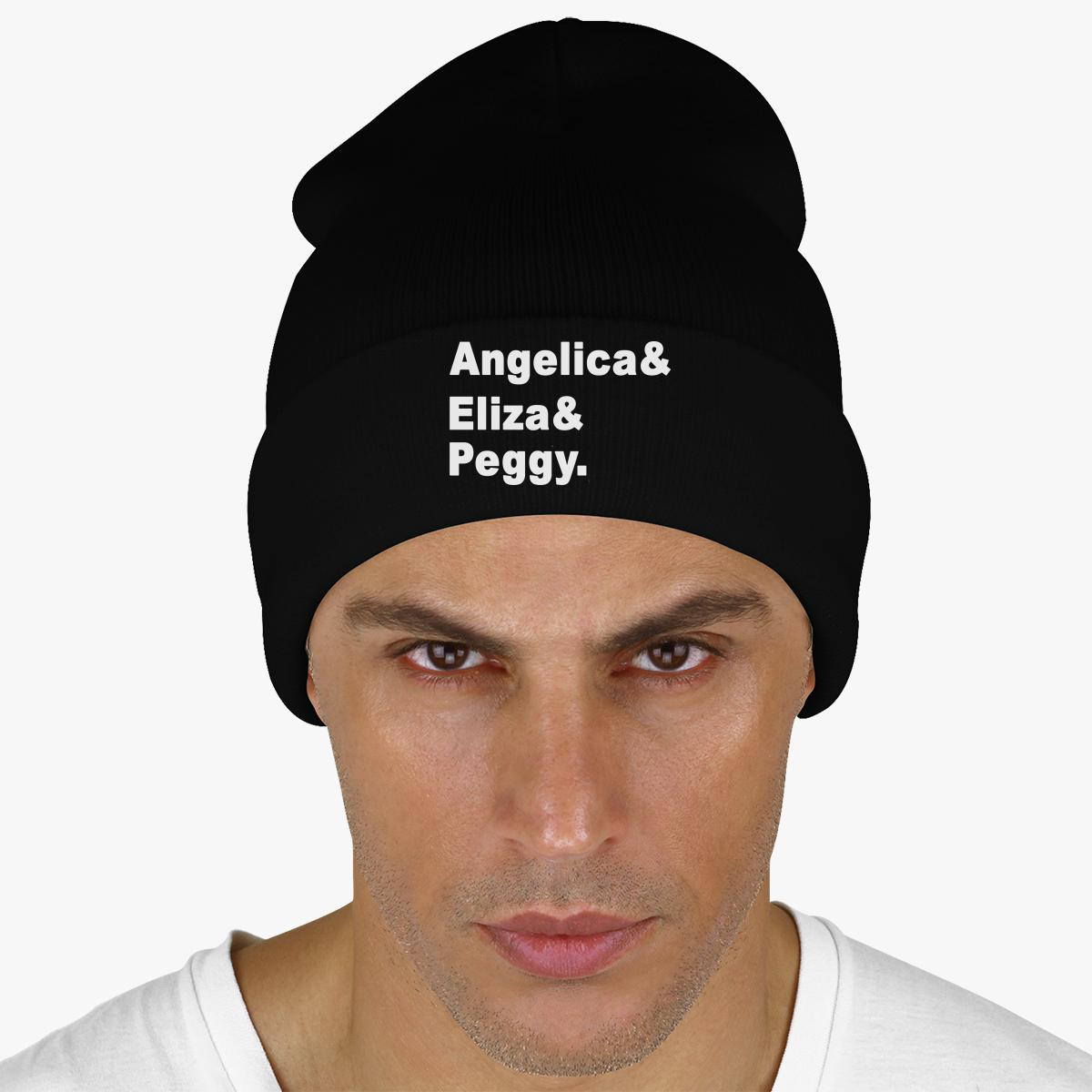 Angelica, Eliza, Peggy Knit Cap