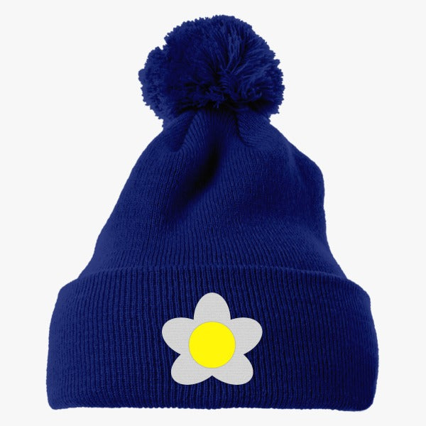 Animal Crossing Girl Villager Cosplay Embroidered Knit Pom Cap