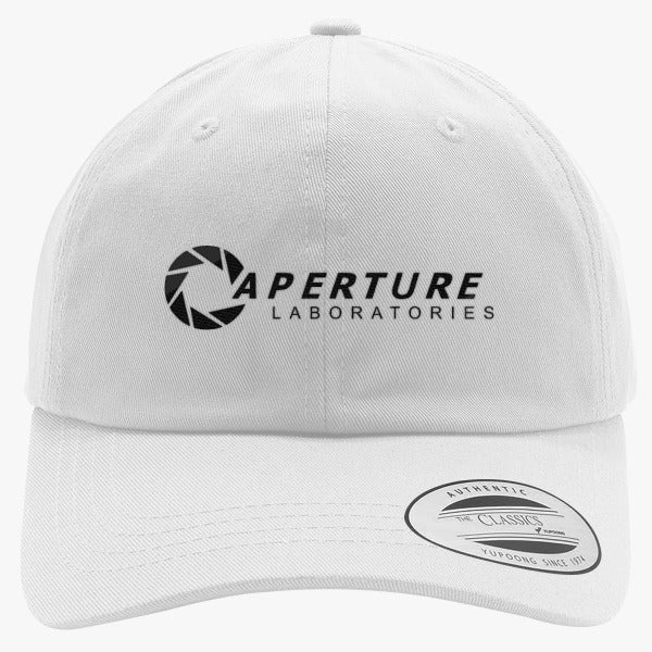 Aperture Labs Embroidered Cotton Twill Hat