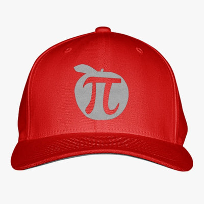 Apple Pi Mathematics  Embroidered Baseball Cap