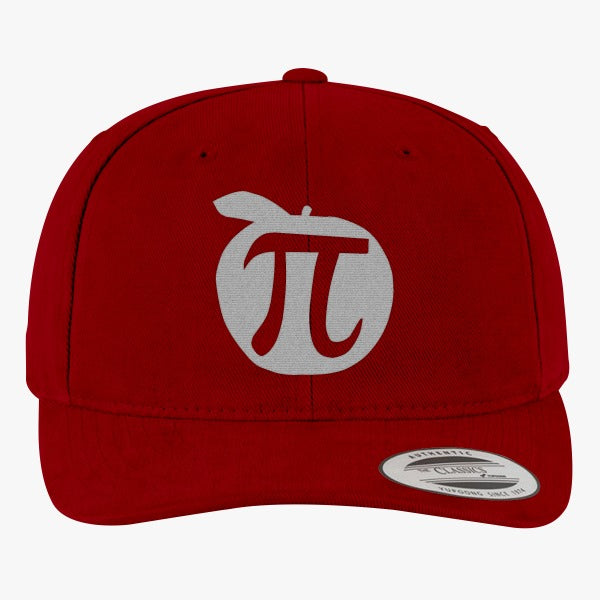 Apple Pi Mathematics  Brushed Embroidered Cotton Twill Hat