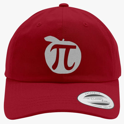 Apple Pi Mathematics  Embroidered Cotton Twill Hat