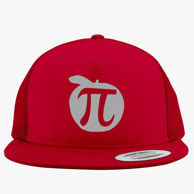 Apple Pi Mathematics  Embroidered Trucker Hat
