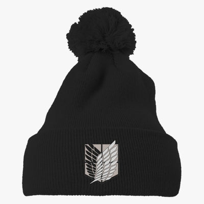 Astralis Logo Embroidered Knit Pom Cap
