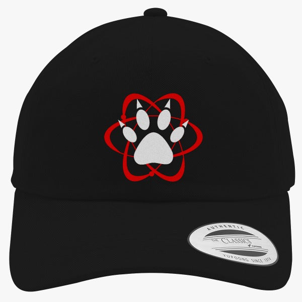 Atomic Paw Embroidered Cotton Twill Hat