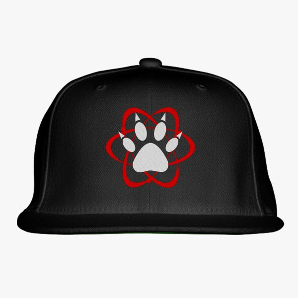 Atomic Paw Embroidered Snapback Hat