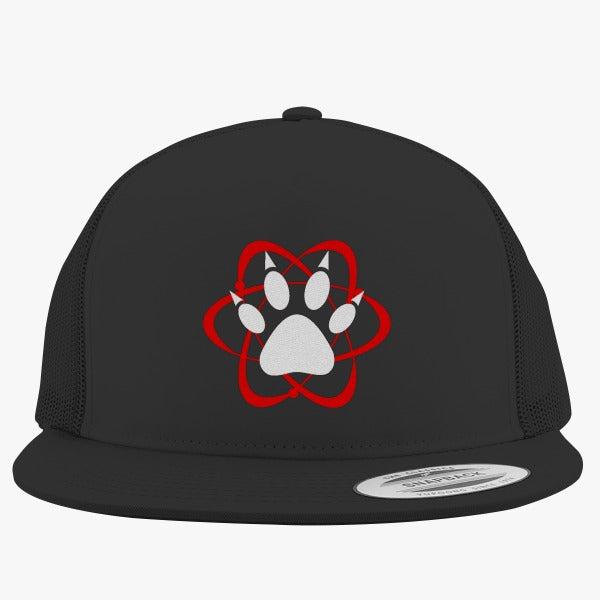 Atomic Paw Embroidered Trucker Hat