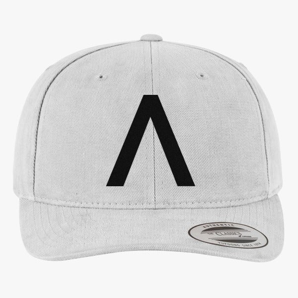 axwell ingrosso logo brushed embroidered cotton twill hat hatsline