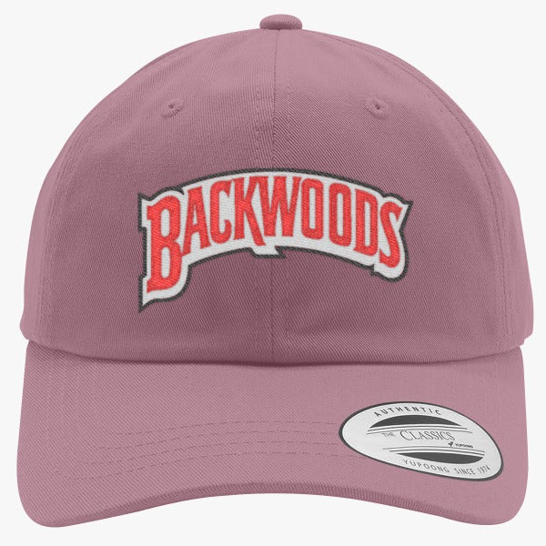 Backwoods Embroidered Cotton Twill Hat