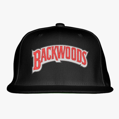Backwoods Embroidered Snapback Hat