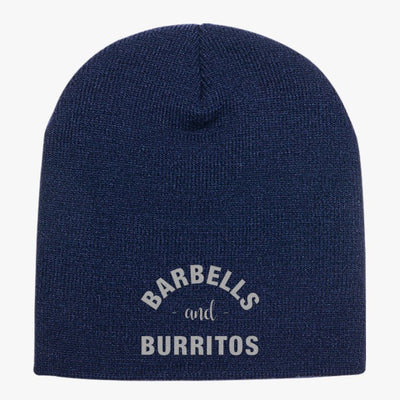 Barbells And Burritos Knit Beanie