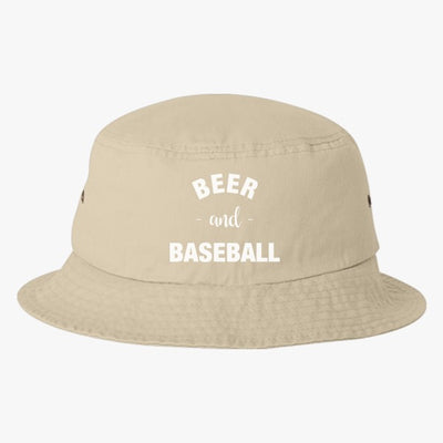 Baseball And Beer Bucket Hat