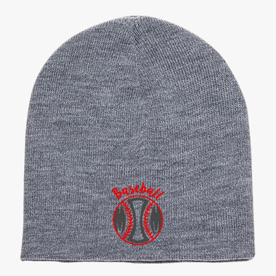 Baseball Mom Knit Beanie