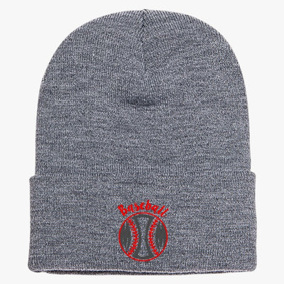 Baseball Mom Knit Cap