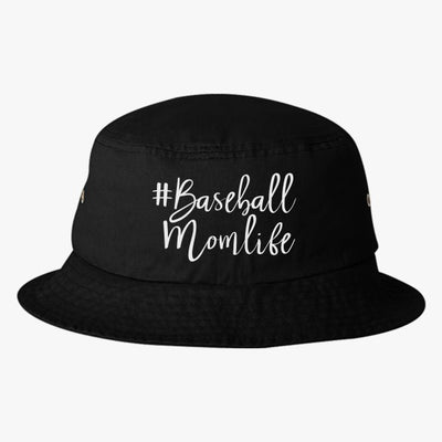 #baseball Mom Life Bucket Hat
