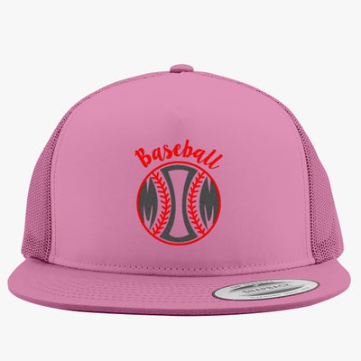 Baseball Mom Embroidered Trucker Hat