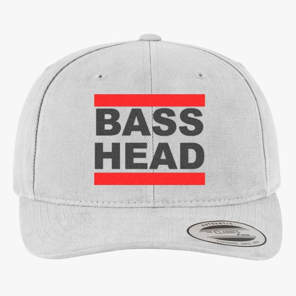 Bassnectar Bass Head Brushed Embroidered Cotton Twill Hat