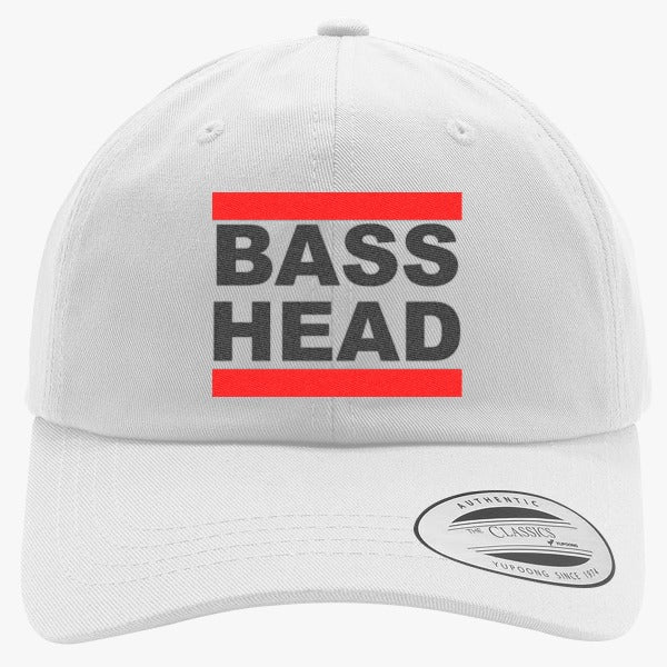 Bassnectar Bass Head Embroidered Cotton Twill Hat