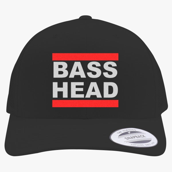 Bassnectar Bass Head Embroidered Retro Embroidered Trucker Hat