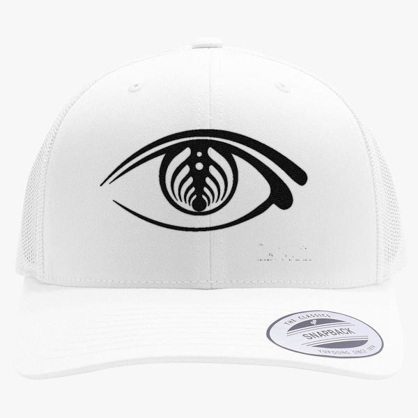 Bassnectar Eye Embroidered Retro Embroidered Trucker Hat