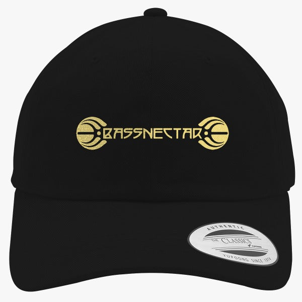 Bassnectar Gold Embroidered Cotton Twill Hat