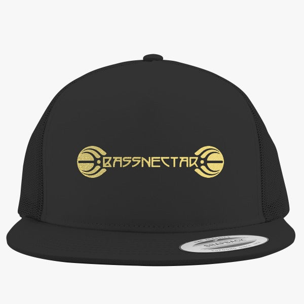 Bassnectar Gold Embroidered Trucker Hat