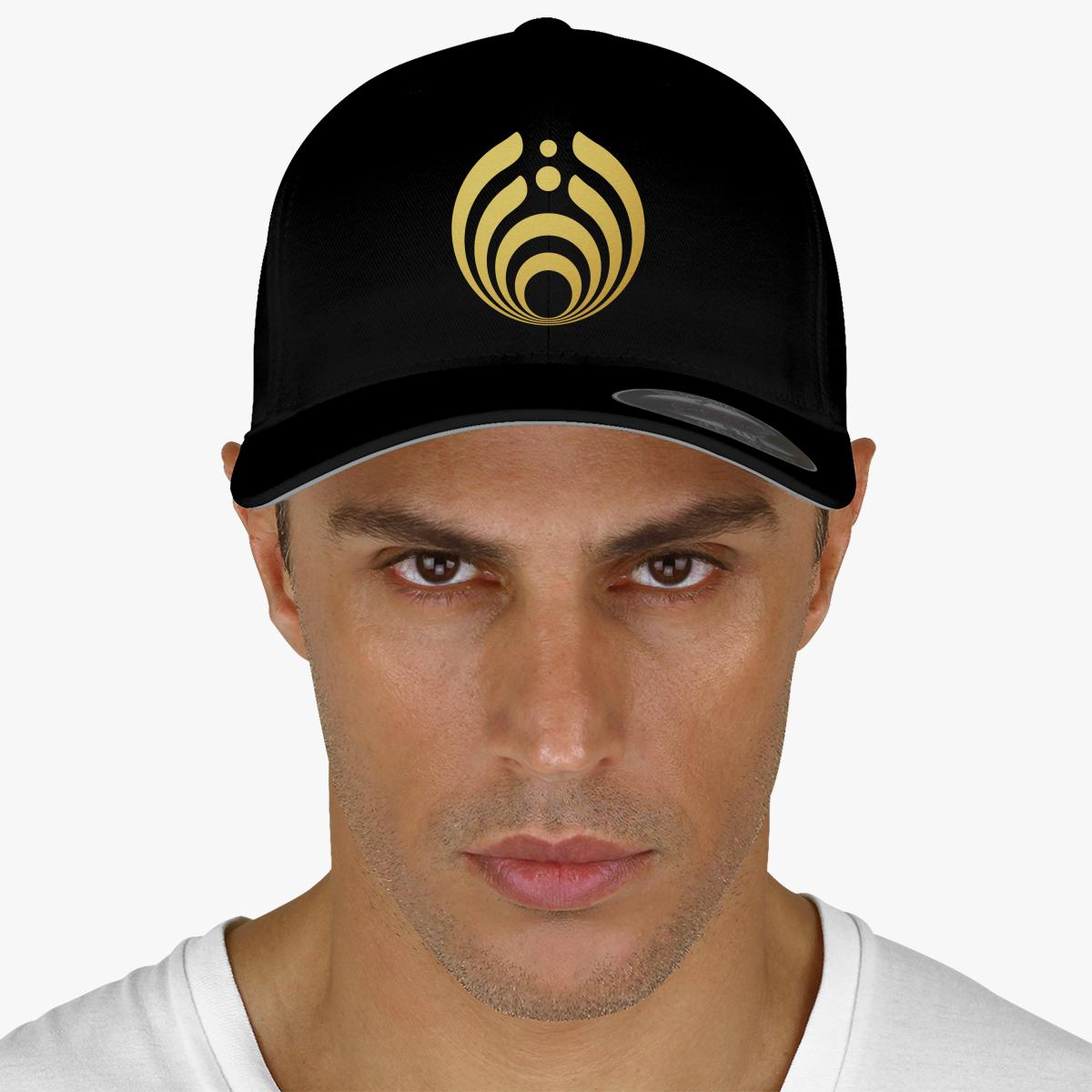 Bassnectar Golden Embroidered Baseball Cap