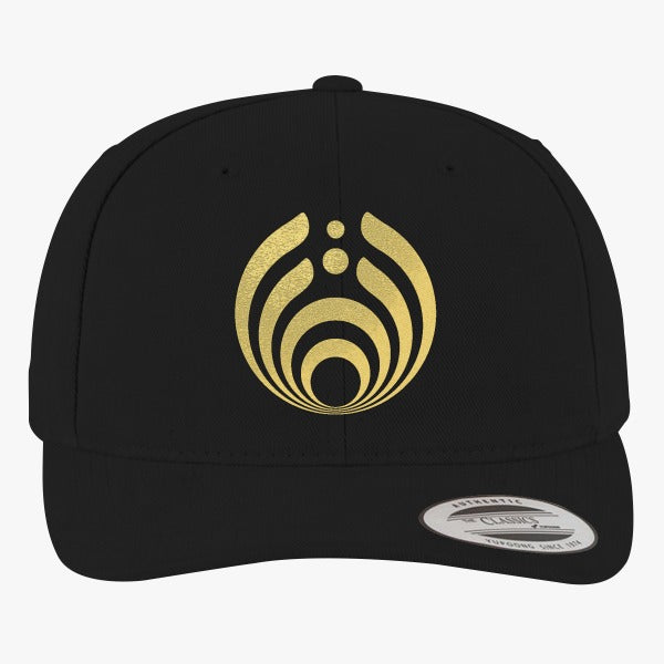 Bassnectar Golden Brushed Embroidered Cotton Twill Hat