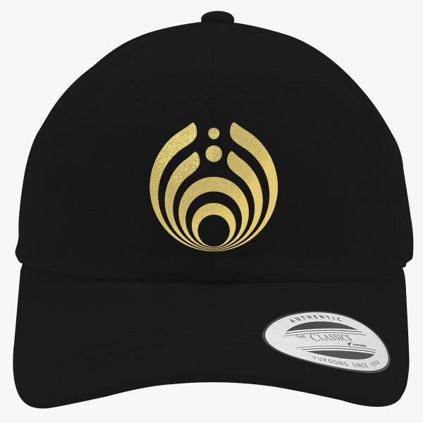 Bassnectar Golden Embroidered Cotton Twill Hat