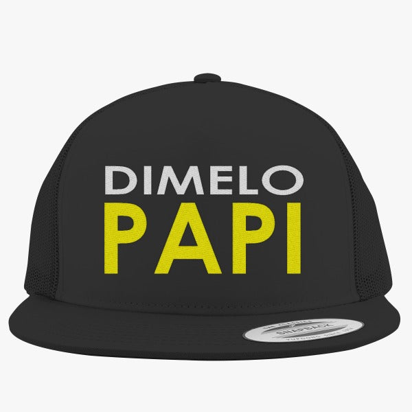 011b4861a9d Dimelo Papi` Embroidered Trucker Hat – Hatsline