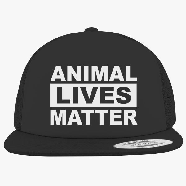 Animal Lives Matter Foam Trucker Hat