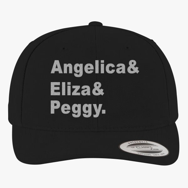 Angelica, Eliza, Peggy Brushed Embroidered Cotton Twill Hat