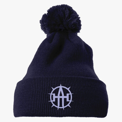 Bryantbie80 Allan Holdsworth Tributte Wall Art02 Embroidered Knit Pom Cap