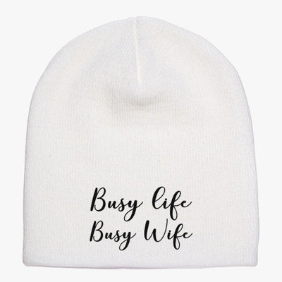 Busy Life Busy Wife Knit Beanie