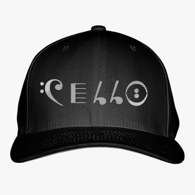 Cello Embroidered Baseball Cap