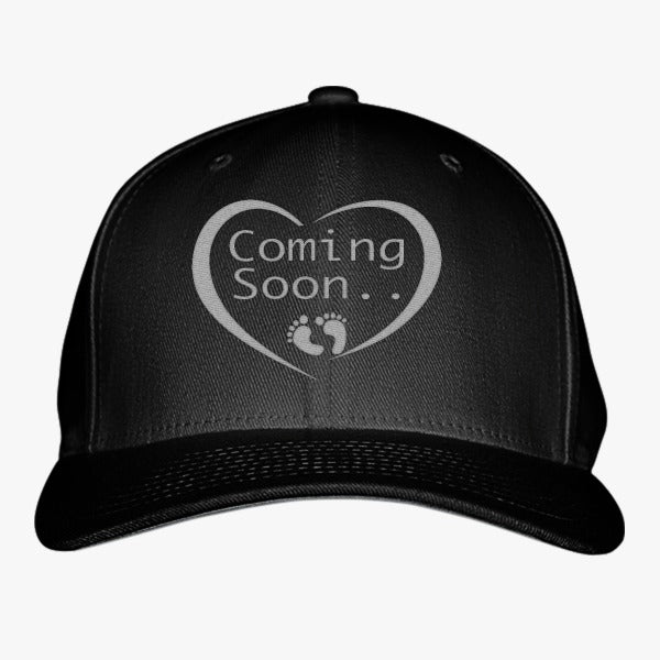 Coming Soon Embroidered Baseball Cap