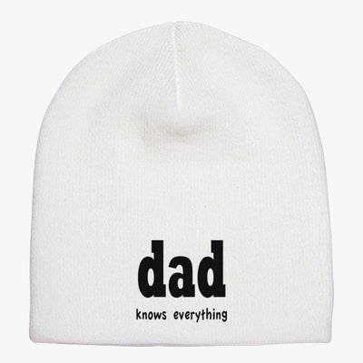 Dad Knows Everything Knit Beanie