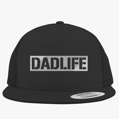 Dad Life Embroidered Trucker Hat