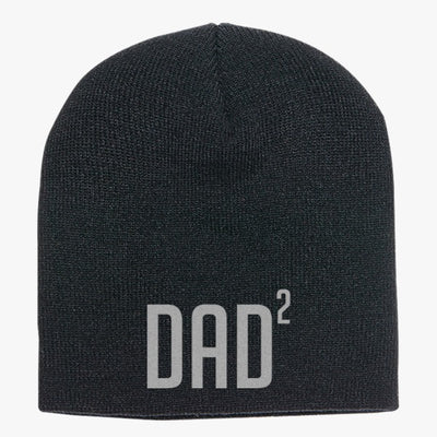 Dad Of Two Knit Beanie