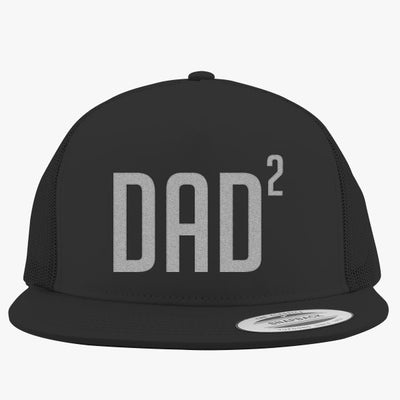 Dad Of Two Embroidered Trucker Hat